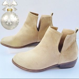 "Journey Collection ""Rimi"" Suede Ankle Boots"